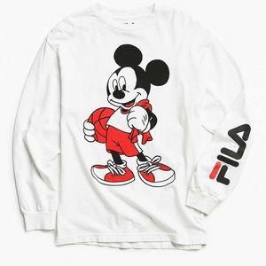 Fila x Disney Mickey Mouse Basketball Long Sleeve